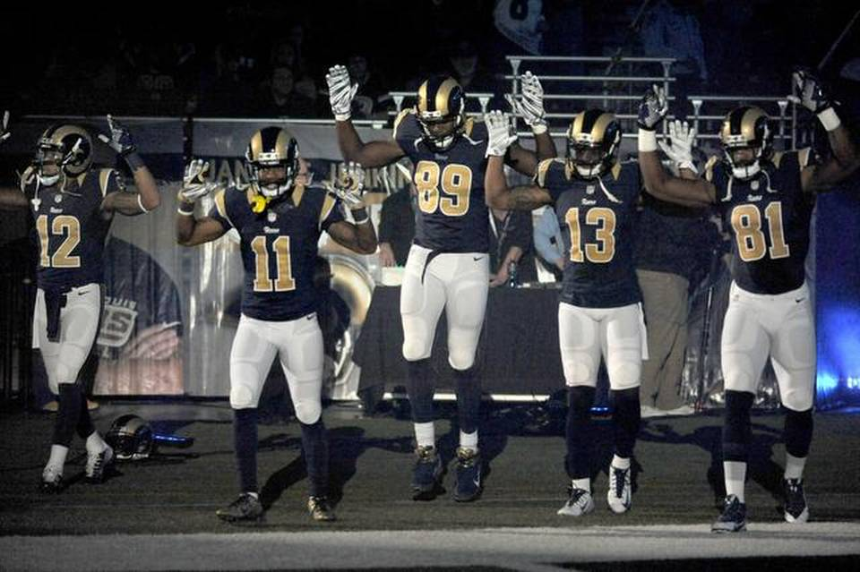 hands up rams